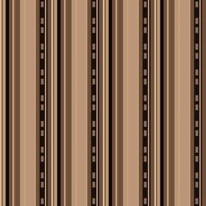 Urbane Brown Stripes © Gingezel™ 2012
