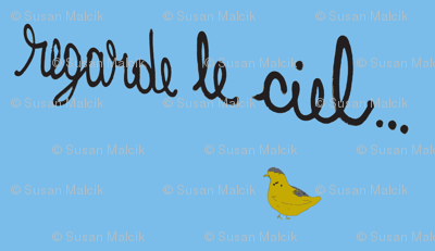 Regarde le Ciel with Yellow Bird