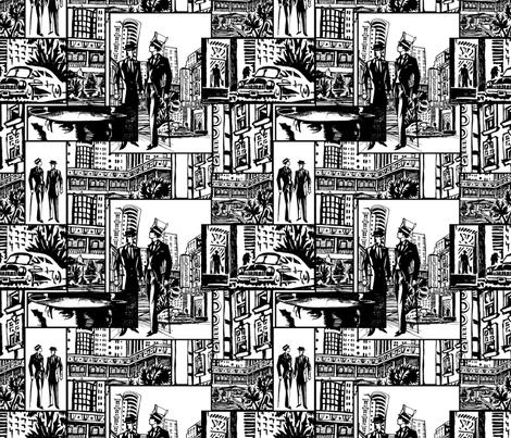 Art Deco NYC fabric by lenoir on Spoonflower - custom fabric