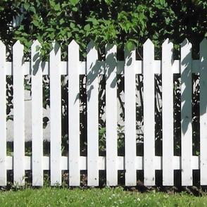 White Picket Fence L