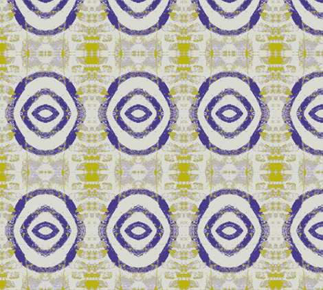 Purple Bullseye fabric by susaninparis on Spoonflower - custom fabric