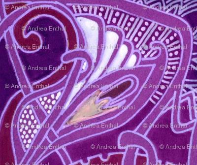 When I Think of Tiffany (purple)