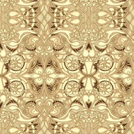 The Soul of a Victorian Machine fabric by edsel2084 on Spoonflower - custom fabric