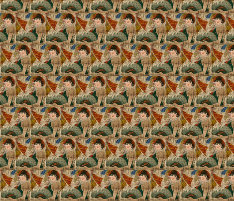 Seems like old times . . . fabric by anniedeb on Spoonflower - custom fabric