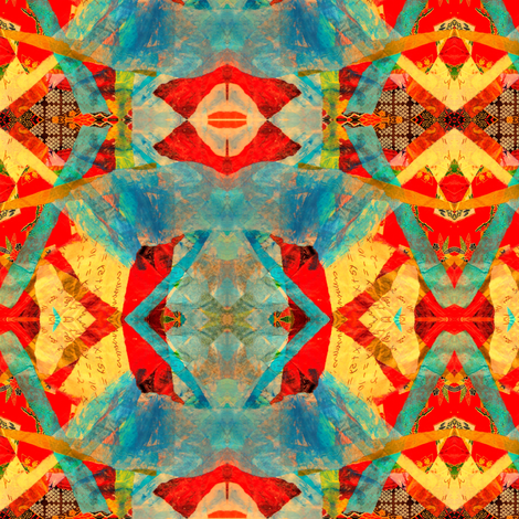 Left Brain Right Brain fabric by anniedeb on Spoonflower - custom fabric