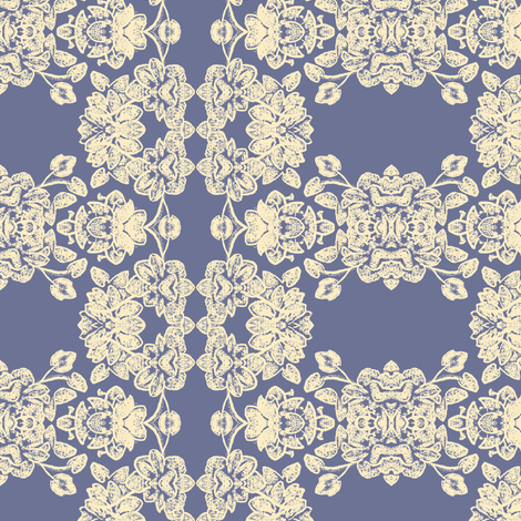 lacy_floral_w-cream_184343_alt fabric by thatswho on Spoonflower - custom fabric