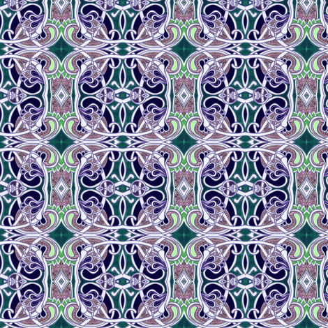Moorish Boxes fabric by edsel2084 on Spoonflower - custom fabric
