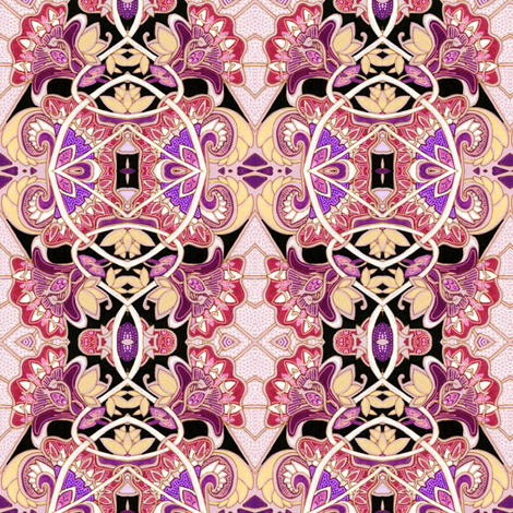 When I Become a Princess #1 of 3 fabric by edsel2084 on Spoonflower - custom fabric