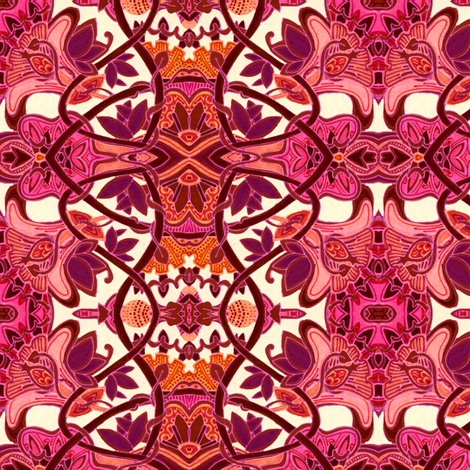 Hawaiian Luau fabric by edsel2084 on Spoonflower - custom fabric