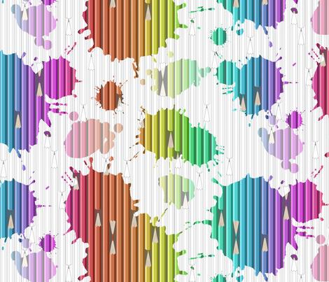 Magic Ink fabric by candyjoyce on Spoonflower - custom fabric