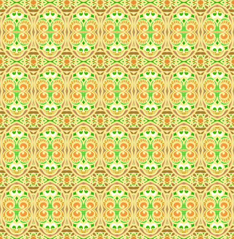 Happy Easter Egg Hunt fabric by edsel2084 on Spoonflower - custom fabric