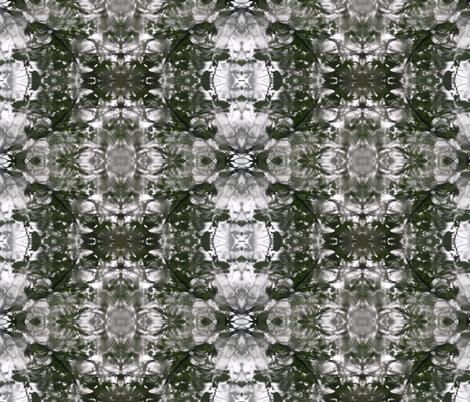 Rain Leaves I fabric by relative_of_otis on Spoonflower - custom fabric
