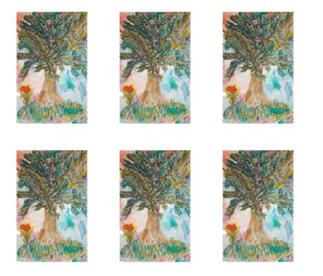Love in Bloom fabric by sherryann on Spoonflower - custom fabric