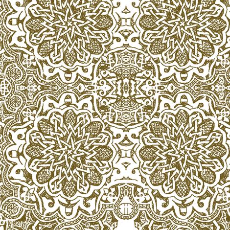 Moorish_henna fabric by bee&lotus on Spoonflower - custom fabric
