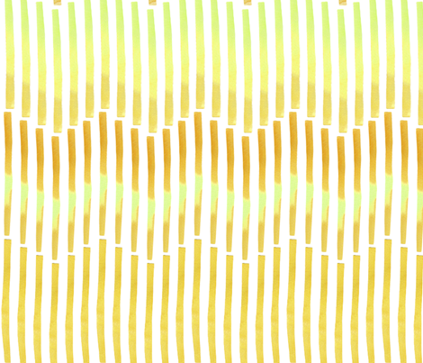 Granada Chevron_yellow ochre fabric by bee&lotus on Spoonflower - custom fabric