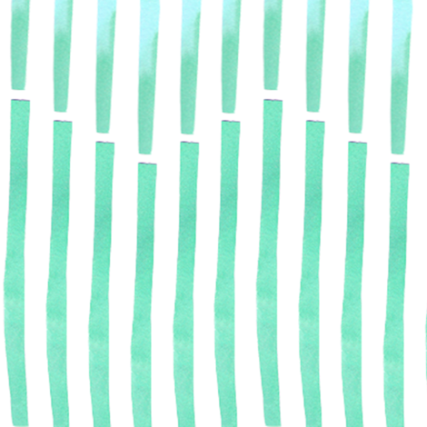 Granada Chevron_aqua fabric by bee&lotus on Spoonflower - custom fabric