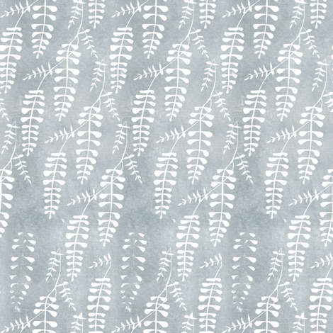 wisteria_repeat6 fabric by sary on Spoonflower - custom fabric