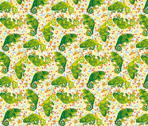 chameleonbuntneu fabric by johanna_design on Spoonflower - custom fabric
