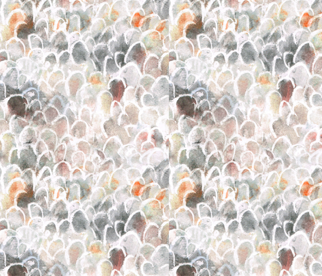 feathers fabric by luisafranco on Spoonflower - custom fabric