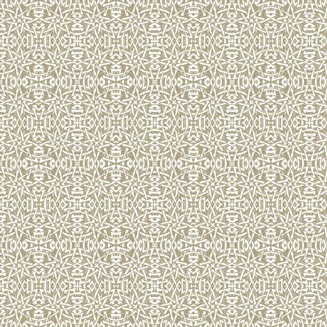 Granada Star_stone fabric by bee&lotus on Spoonflower - custom fabric