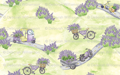 Lavender Farm Road