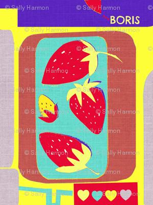 Boris Loves Strawberries II