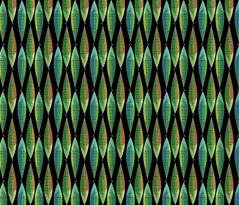 BlackleavesLines3 fabric by shannon-mccoy on Spoonflower - custom fabric