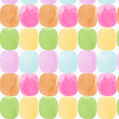 Watercolor Dots fabric by natitys on Spoonflower - custom fabric