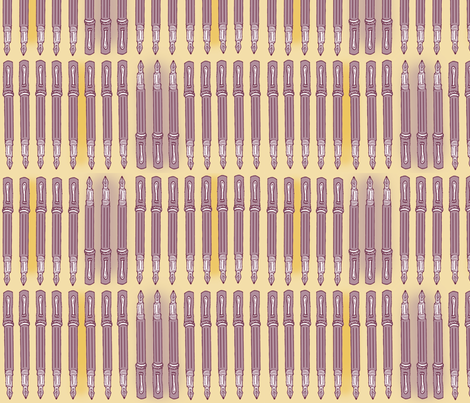 MyBestPen2 fabric by graphic-change on Spoonflower - custom fabric