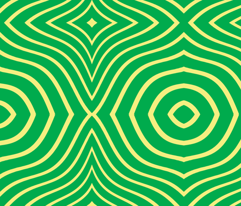 Psycadelic Green fabric by sharpestudiosdesigns on Spoonflower - custom fabric