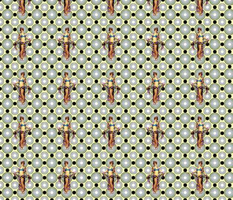 Bloomin Bizarre fabric by lovekittypink on Spoonflower - custom fabric