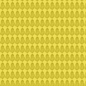yellow protea - basic repeat