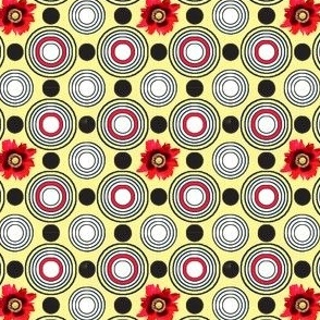 Retrocentric Poppy Circles