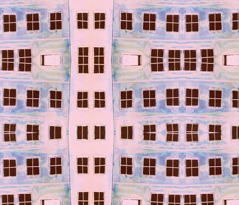 Pink Window Madness fabric by sharpestudiosdesigns on Spoonflower - custom fabric