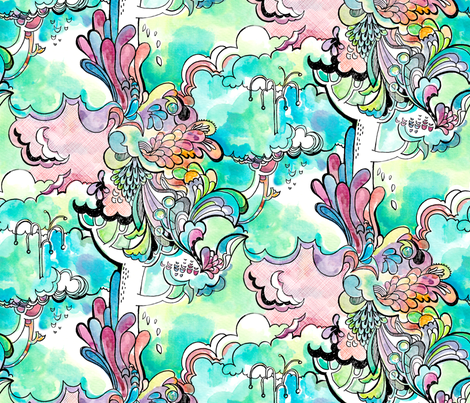 Eden fabric by leanne on Spoonflower - custom fabric
