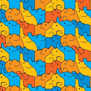 Tessellating elephants
