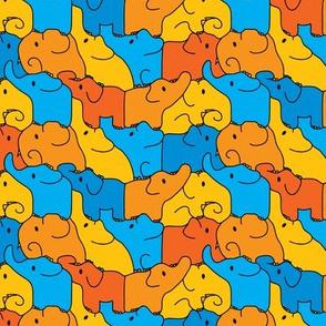 Tessellating elephants