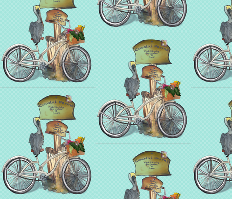 Sneaking a peak fabric by line_and_color_creative on Spoonflower - custom fabric
