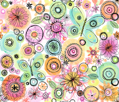 Sing a New Song fabric by bethany@bzbdesigner_com on Spoonflower - custom fabric