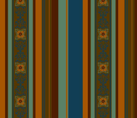 Bali Dragon /  stripe fabric by paragonstudios on Spoonflower - custom fabric