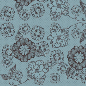 Duotone Blooms