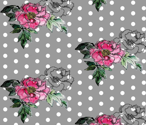 The_Peony_Monologues fabric by starbucktx on Spoonflower - custom fabric