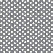 Pretty Polka Dots in Pewter