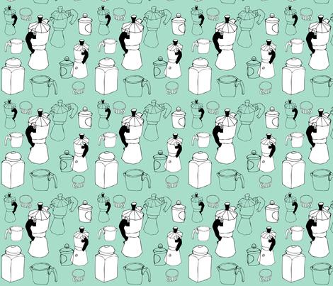 coffee_time fabric by ewela on Spoonflower - custom fabric