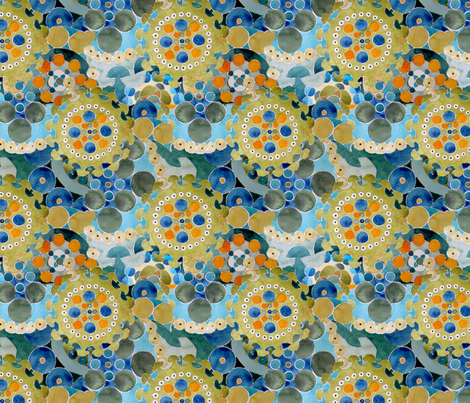 watercolor fabric by marcia_andrea on Spoonflower - custom fabric