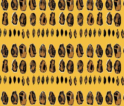 cestlaviv_dried dates fabric by cest_la_viv on Spoonflower - custom fabric