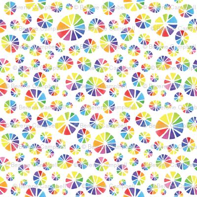 Rainbow Colour Wheels