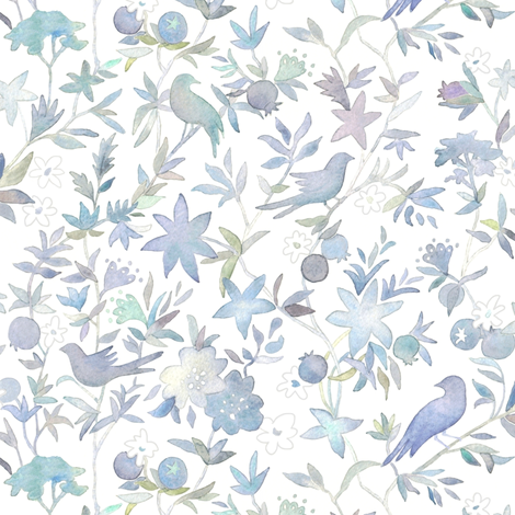 Forest Garden fabric by forest&sea on Spoonflower - custom fabric