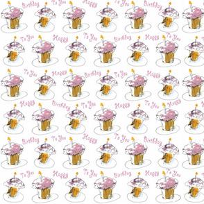 Pink Frosting Birthday