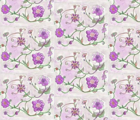 floral_fancy fabric by lea_elina on Spoonflower - custom fabric